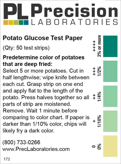 potato test apper, glucose potato test paper, glucose test strips