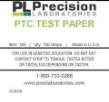 PTC Taste Test Paper, ptc, genetics taste test