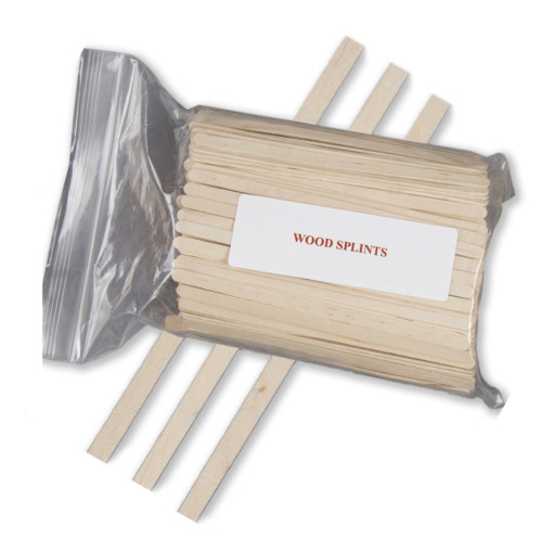 wood splints, stir sticks, stirrers, laboratory stirrers