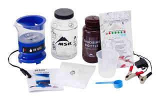 chlorine maker, chlorine test strips, clean water