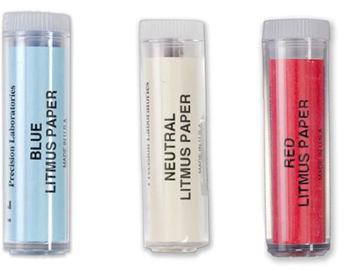 Litmus Paper pH Experiments