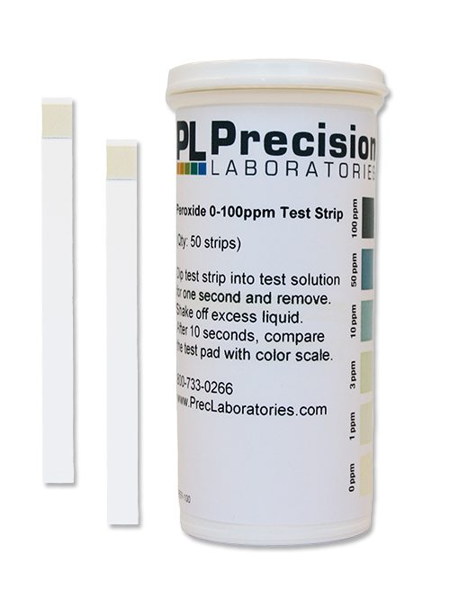 MONITOR Food Safety Sanitizer Test Strips Residual