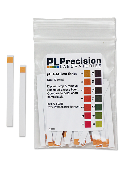 pH Test Strips 1-14, pH test, buffer in lakes, buffer in ponds, buffer in streams, limestone buffer, liming, acidity, acid rain, pH test strips, pH experiment