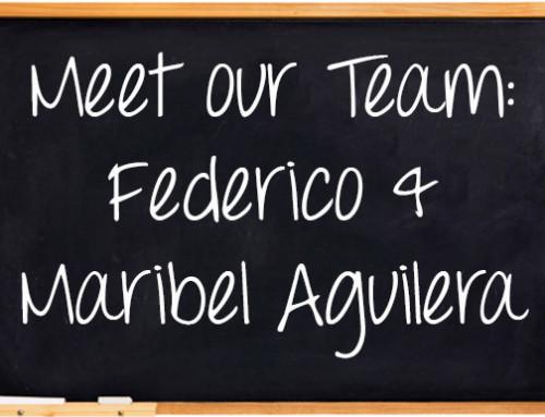 Meet Our Team: Federico and Maribel Aguilera