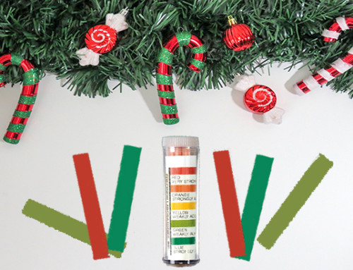 Holiday pH Paper Test