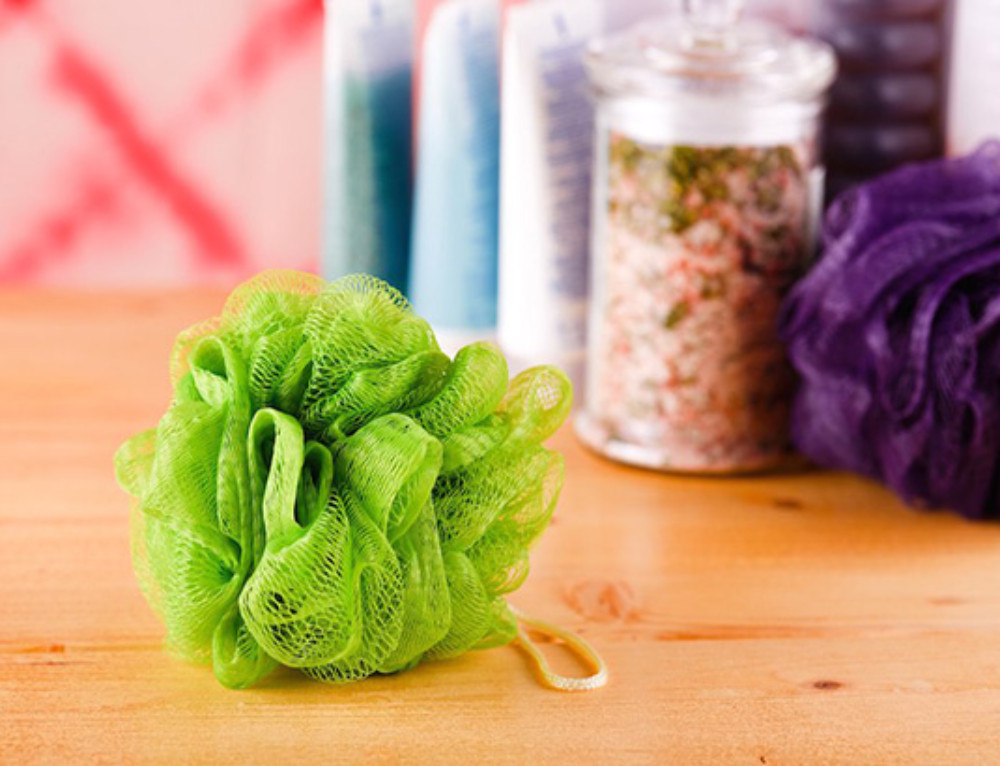 Germs on a Loofah
