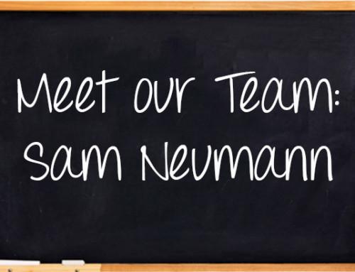 Meet Our Team: Sam Neumann