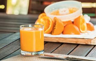 acidity of orange juice, pH, pH test strips, orange juice pH