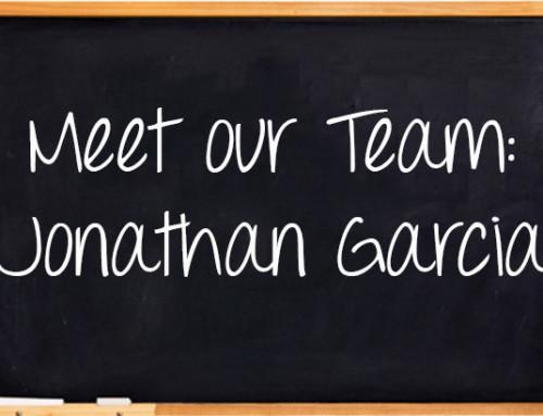 Meet Our Team: Jonathan Garcia
